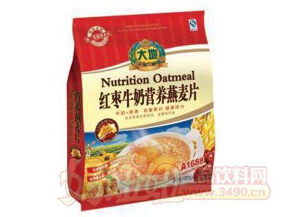 大地红枣牛奶营养燕麦片