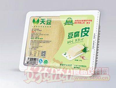 天豆豆腐皮400g
