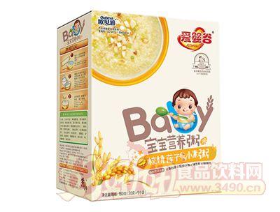 欧贝雅宝宝营养粥核桃莲子小米粥