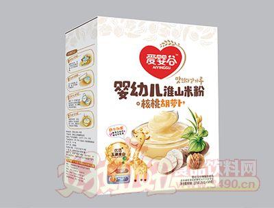 225克淮山米粉核桃胡萝卜谷物辅助食品