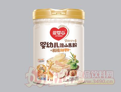 508克淮山米粉核桃胡萝卜谷物辅助乐虎体育