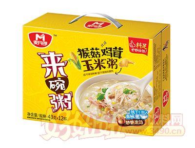 麦丹郎猴菇鸡茸玉米粥礼盒