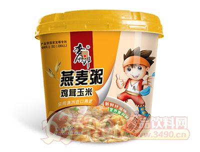 麦丹郎燕麦粥(鸡茸玉米)