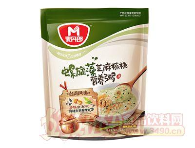 麦丹郎螺旋藻芝麻核桃营养粥