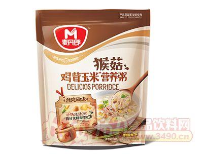 ��丹郎猴菇�u茸玉米�I�B粥