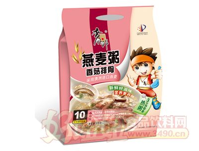 400克麦丹郎燕麦粥(香菇排骨)