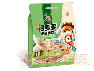 400克麦丹郎燕麦粥(皮蛋瘦肉)