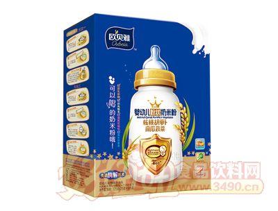 欧贝雅婴幼儿粉状奶米粉(核桃胡萝卜南瓜蔬菜)