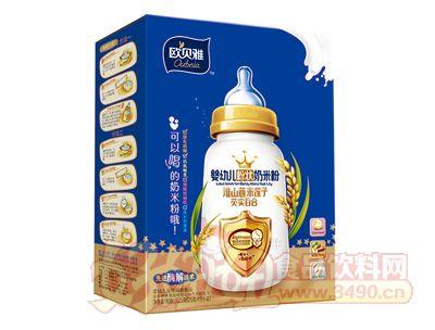 欧贝雅婴幼儿粉状奶米粉(淮山薏米莲子芡实百合)