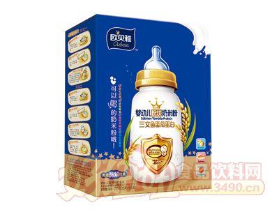 欧贝雅婴幼儿粉状奶米粉(三文鱼番茄蛋白)