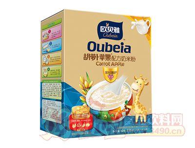 欧贝雅胡萝卜苹果配方奶米粉