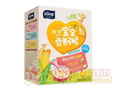 230克�W�雅百合�u茸玉米粥