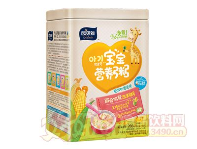 288克欧贝雅百合鸡茸玉米粥