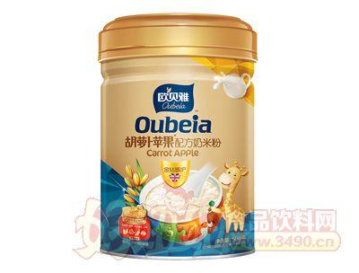 508克欧贝雅胡萝卜苹果配方奶米粉