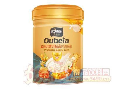 508克欧贝雅益生元莲子淮山配方奶米粉