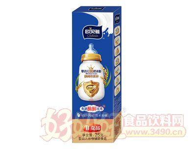 欧贝雅婴幼儿粉状奶米粉DHA钙铁锌(试用装)