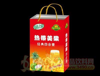 热带美果经典四合一手提礼盒