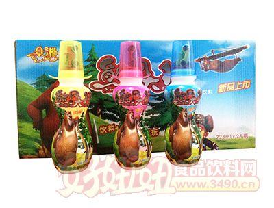 老厂产品-景湘熊风大将乳味饮料228ml