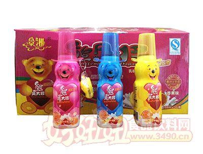 老厂产品-景湘熊风大将乳味饮料208ml×32瓶