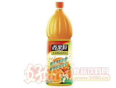香果粒橙汁饮料450ml