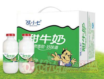 张小七甜牛奶500ml×12瓶