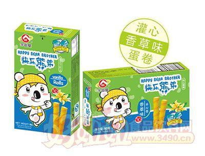 宇宙屋快乐熊弟蛋卷-香草味50g