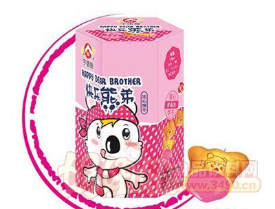 宇宙屋快乐熊弟小熊饼-草莓味50g