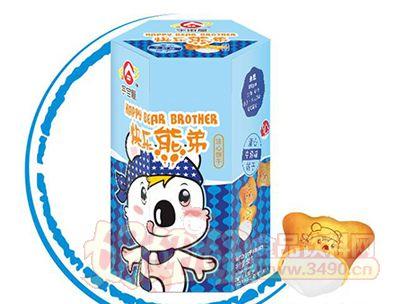 宇宙屋快乐熊弟小熊饼-牛奶味50g