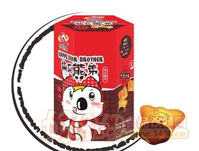 宇宙屋快乐熊弟小熊饼-巧克力味50g