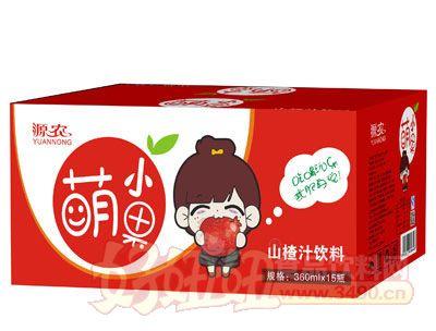 萌小果山楂汁360ml×15瓶