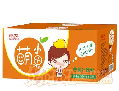 萌小果芒果汁360ml×15瓶