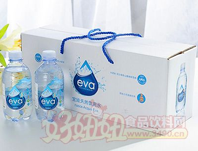 eva宜娃天然饮用水330mlx12瓶