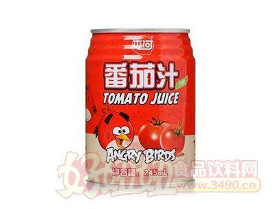 中粮屯河番茄汁小鸟版245ml