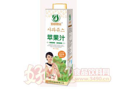 农树果园苹果汁1L