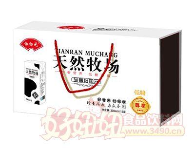怡初元天然牧场牛奶250mlx12盒