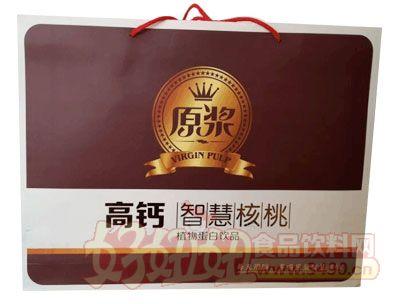 原浆高钙智慧核桃植物蛋白饮品礼品盒