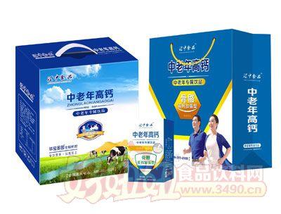 江中食品中老年高钙牛奶