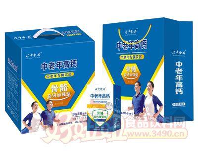 江中食品中老年高钙牛奶手提礼盒