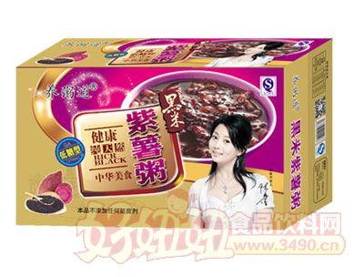 黑米紫薯罐粥