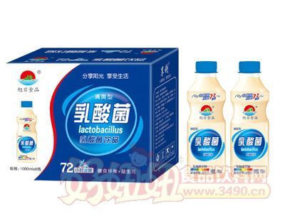 清爽型乳酸菌饮品1000ml×8瓶
