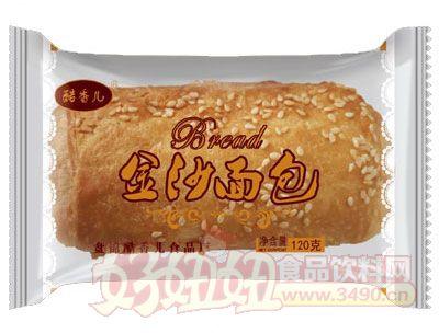 酷香儿金沙面包120克