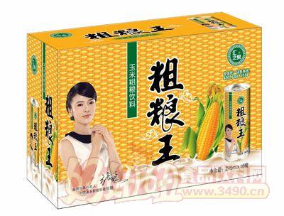 汇之果粗粮王鲜榨玉米汁饮料箱装