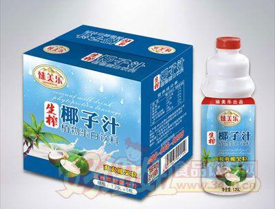 臻美乐生榨椰子汁1.25L×6瓶