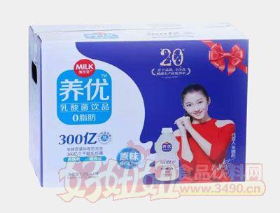 麦尔克养优乳酸菌饮品原味1.25L×6瓶