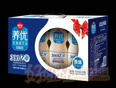 麦尔克养优乳酸菌饮品原味330ml×10瓶