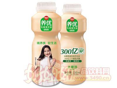 麦尔克养优乳酸菌饮品330ml木糖醇