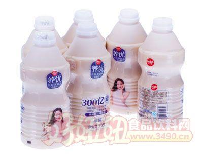 麦尔克养优乳酸菌饮品原味1.25L