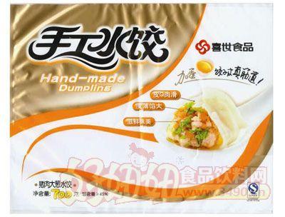 喜世手工水饺猪肉大葱700g