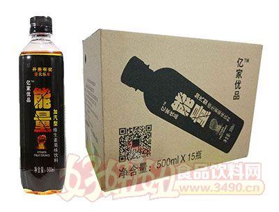 亿家优品加气型维生素果味饮料500mlx15瓶