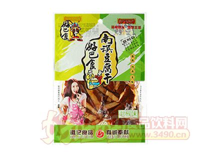 好巴食南溪豆腐干泡椒味